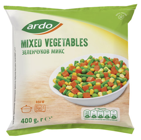 Mixed Vegetables 400g