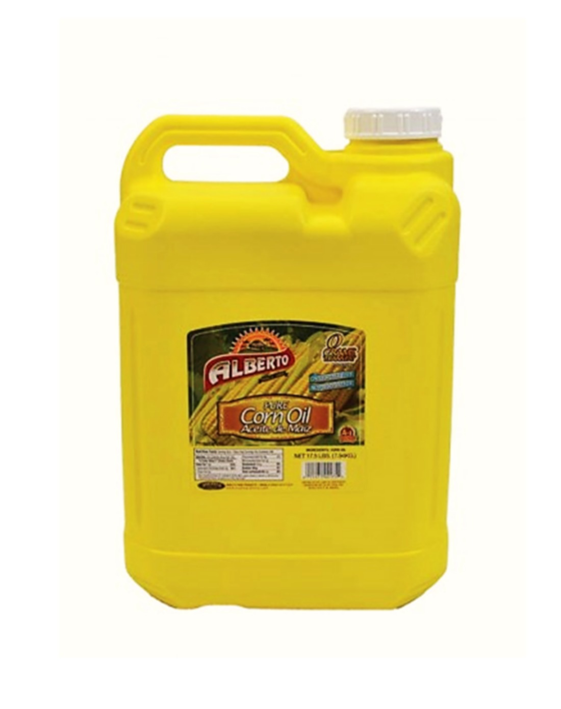 Alberto Corn Oil (2 Gallon) 17.5 Lbs