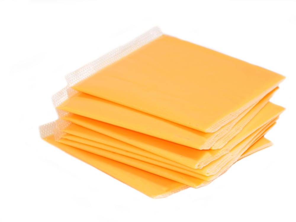 American Yellow Cheese Slices 160's 5lb