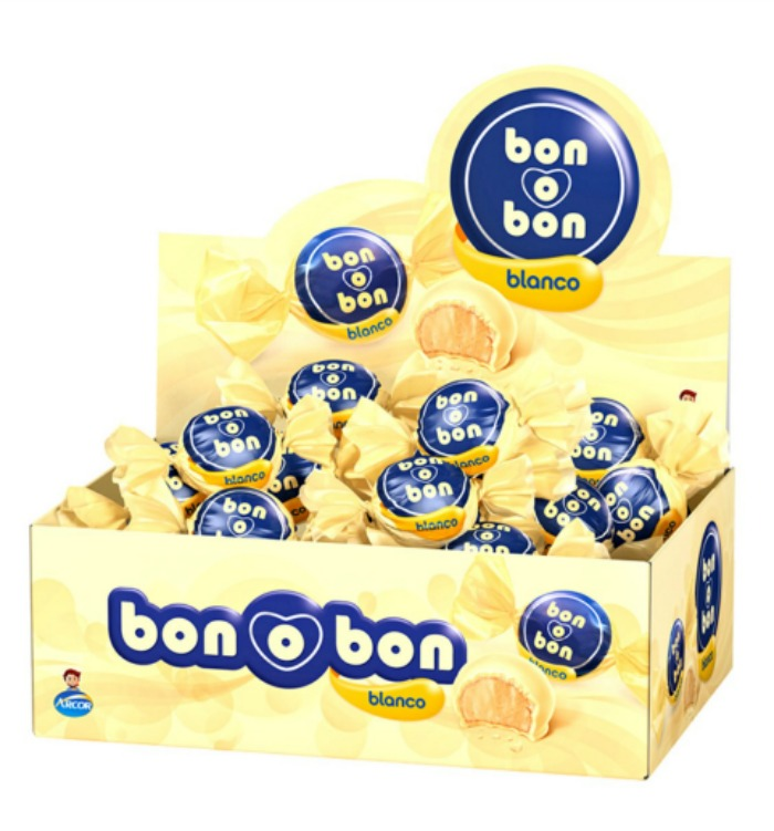 Arcor Bon O Bon White Chocolate 450 g