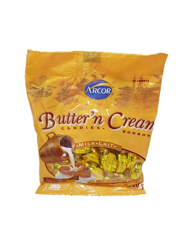 Arcor Butter 'N' Cream Hard Candy 141g