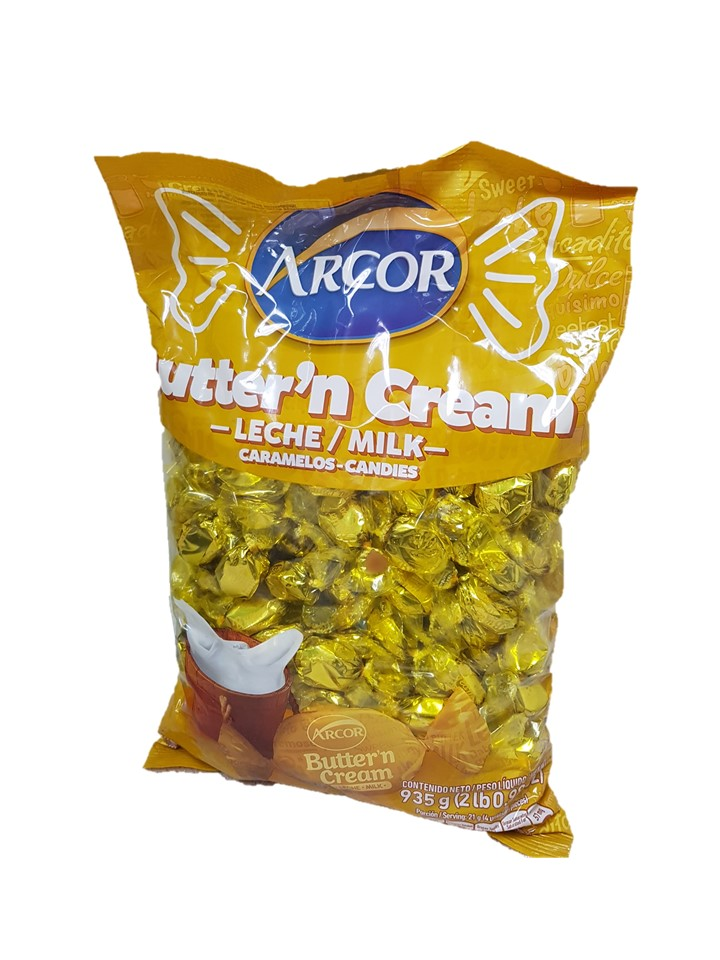Arcor Butter 'N' Cream Hard Candy 810g