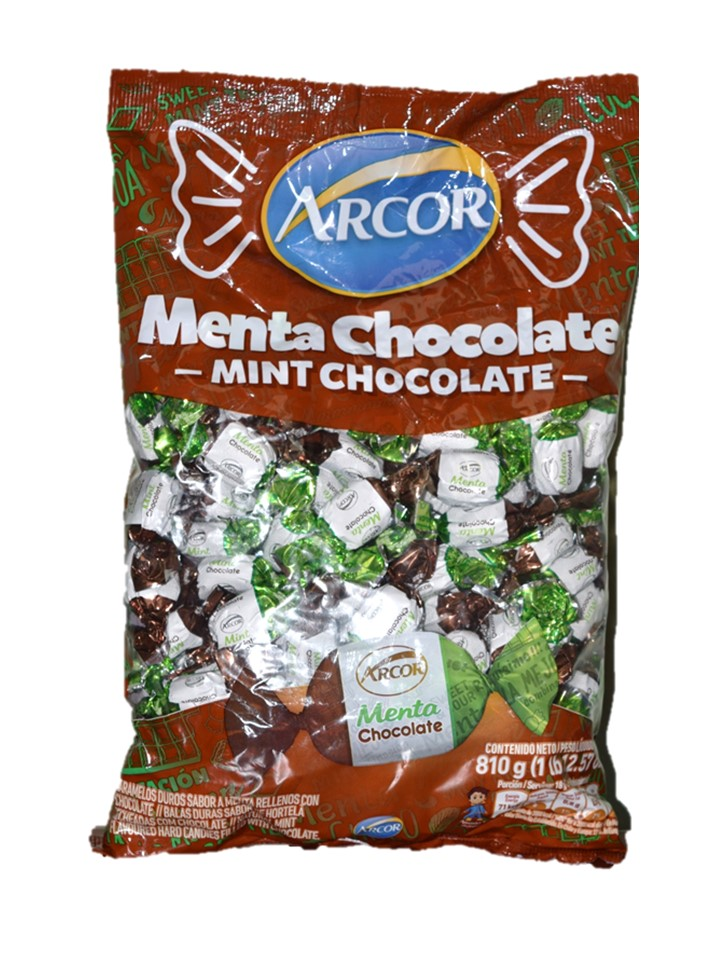 Arcor Chocolate Filled Mint Candy 715g