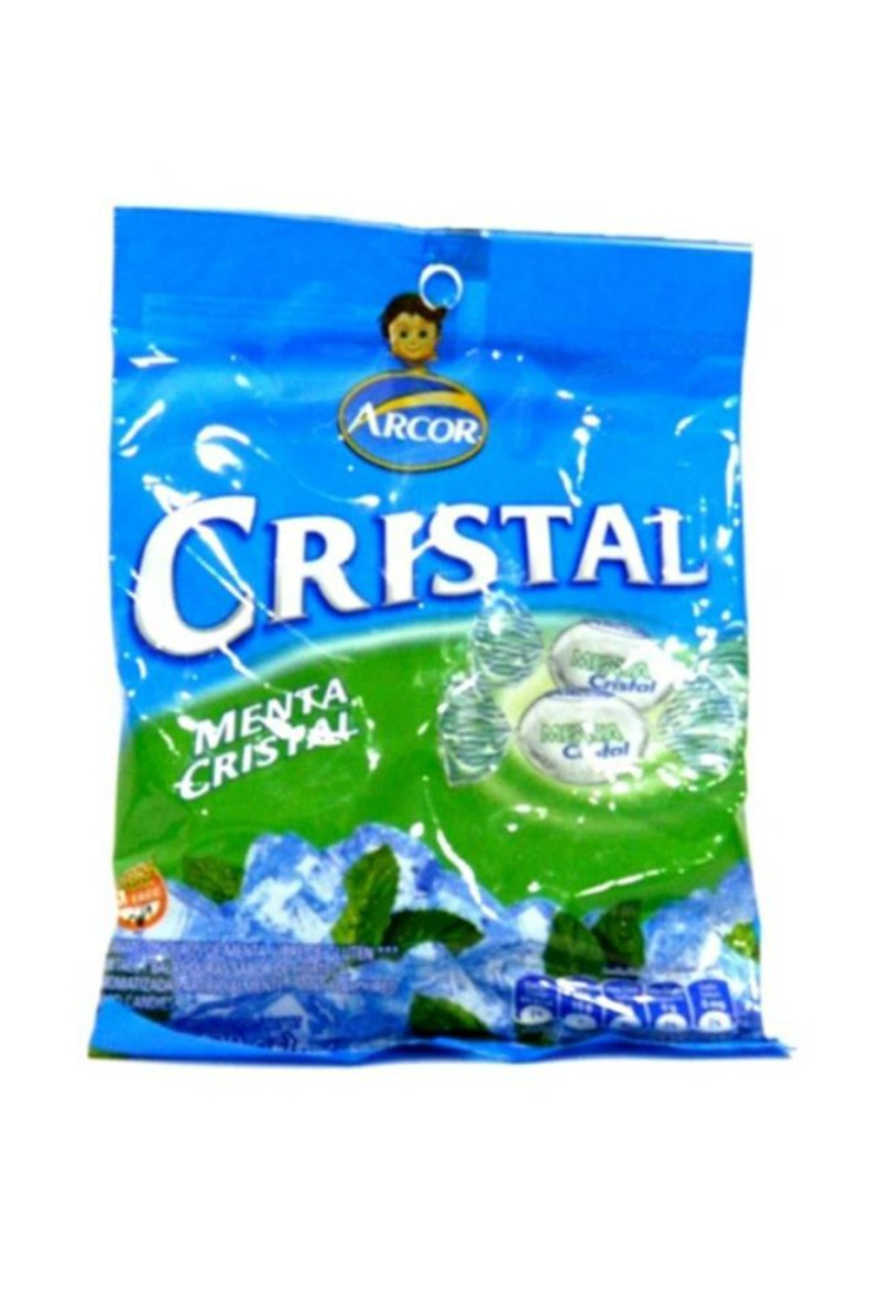 Arcor Crystal Mints Hard Candy 150g