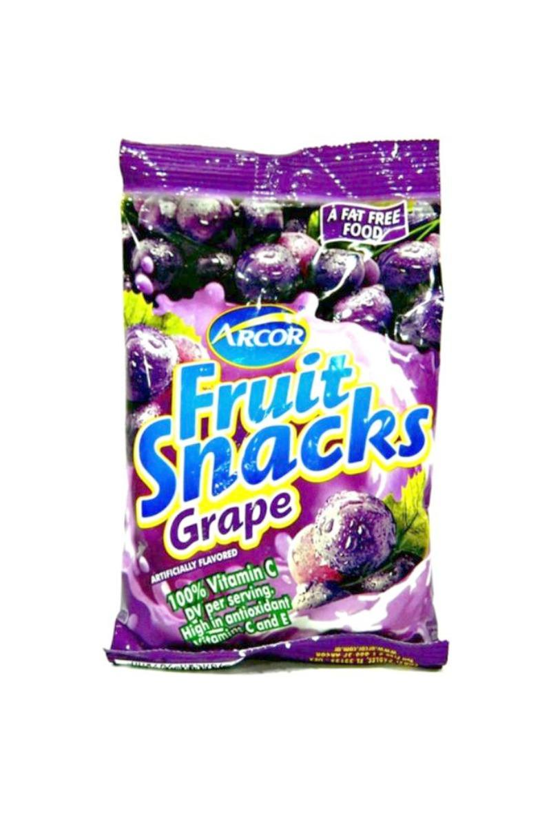Arcor Grape Fruit Snacks 2.25oz