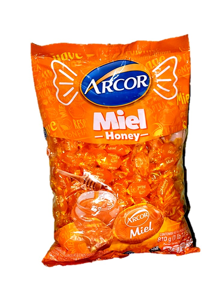 Arcor Honey Filled Hard Candy 675g