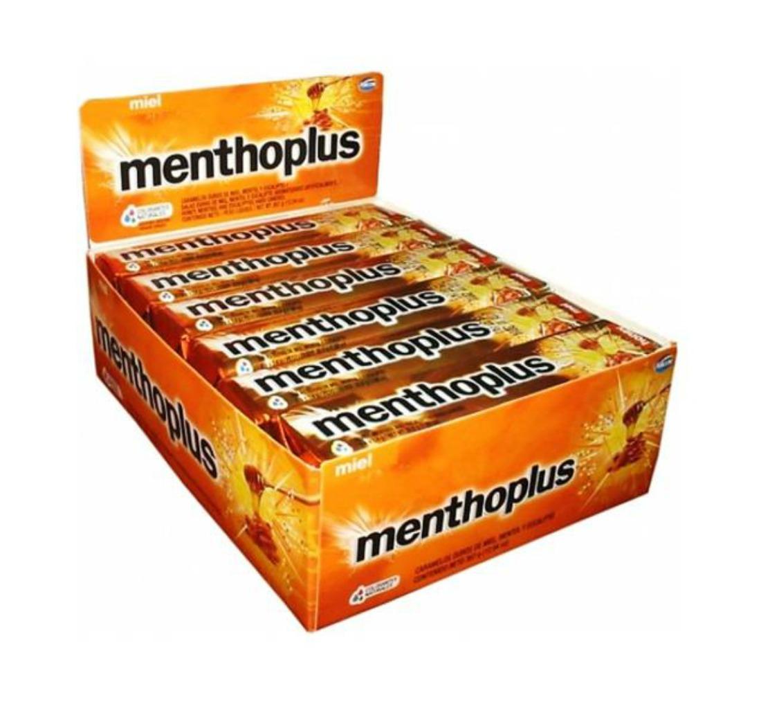Arcor Menthoplus Cough Drops Honey 30g