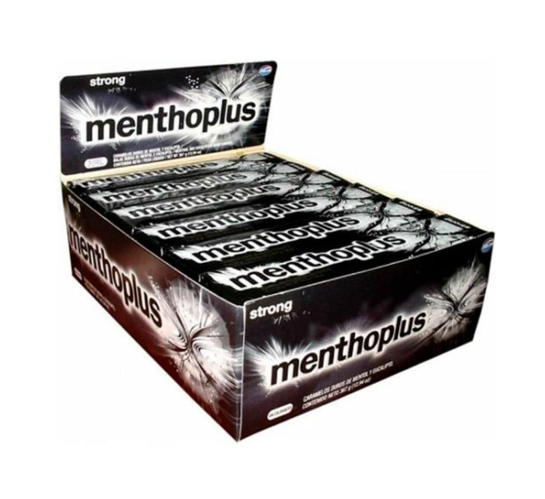 Arcor Menthoplus Cough Drops Strong 30g