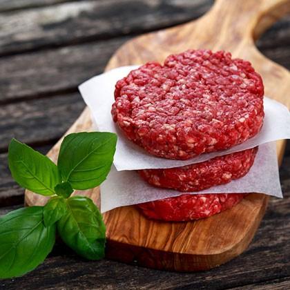 Beef Burgers 3oz 60pcs Per Case