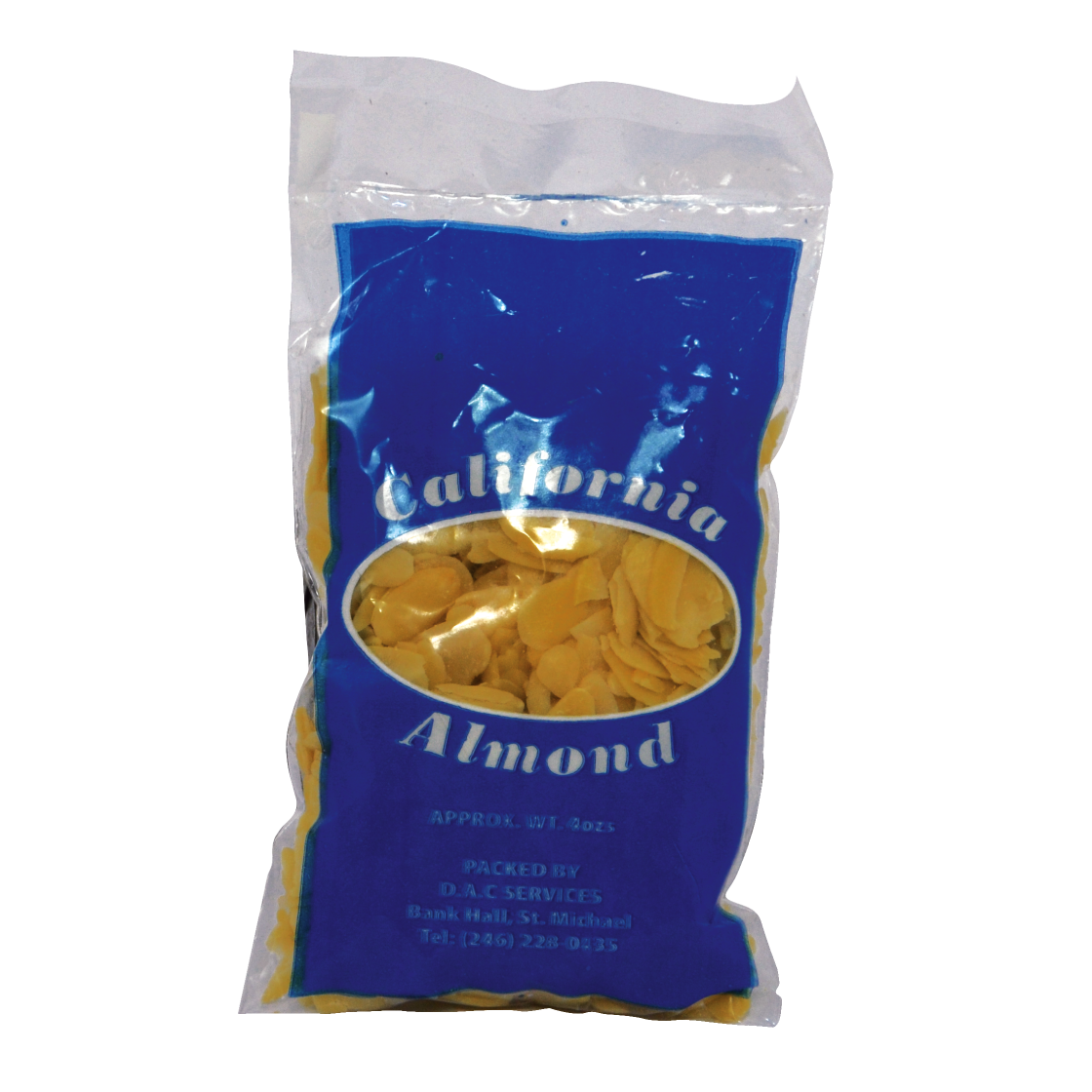 Blanched Sliced Almond 4oz