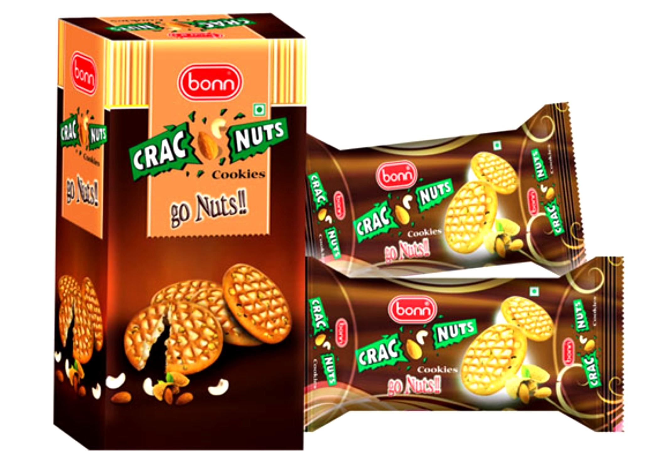 Bonn Crac-Nut Biscuits 48x100 g