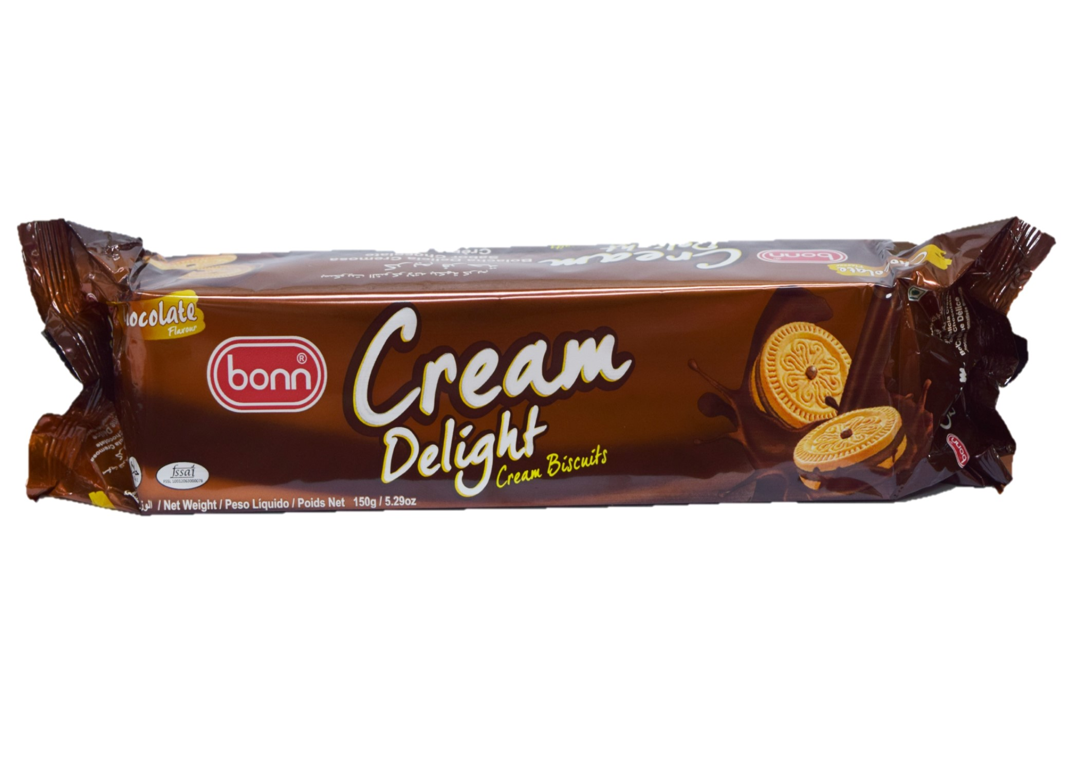 Bonn Cream Delight Chocolate Biscuits 24x150 g