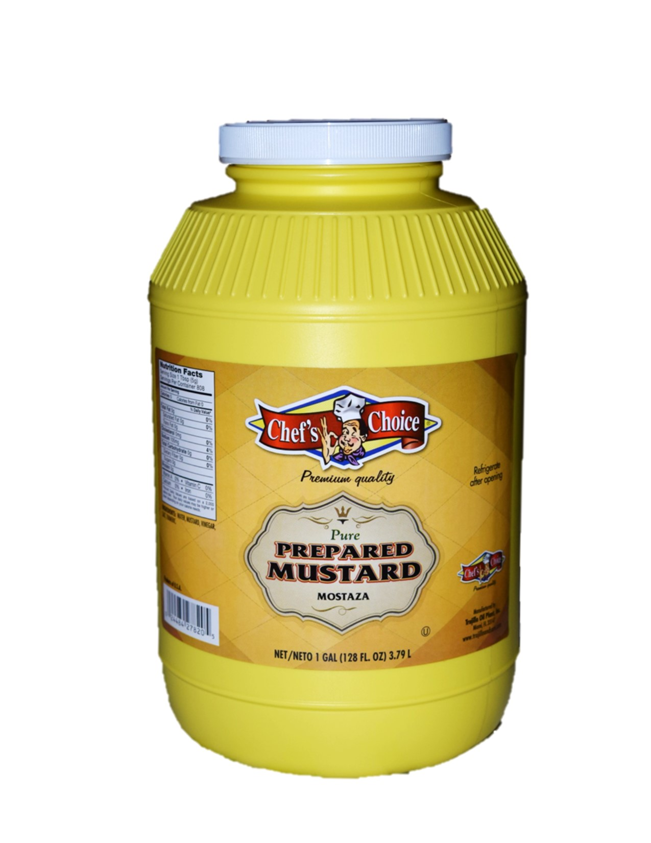 Chef Choice Mustard 1 Gal