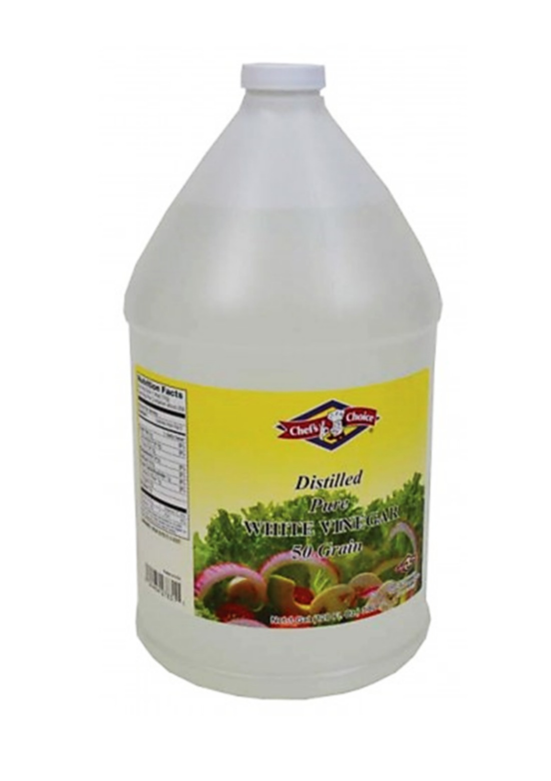 Chef Choice White Vinegar  50gr 1 Gal