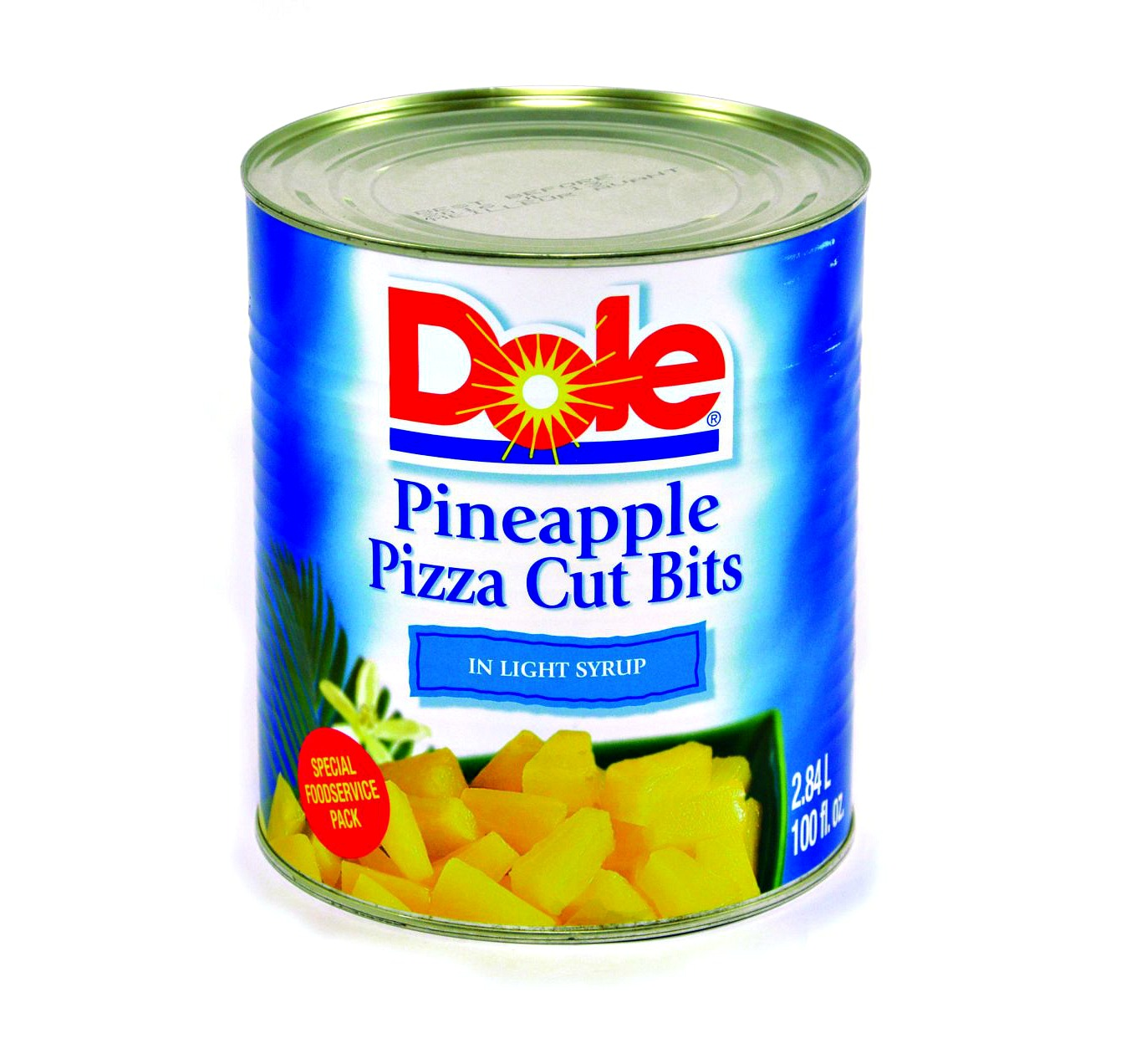 Dole Pineapple Pizza Cut Bits 100 oz