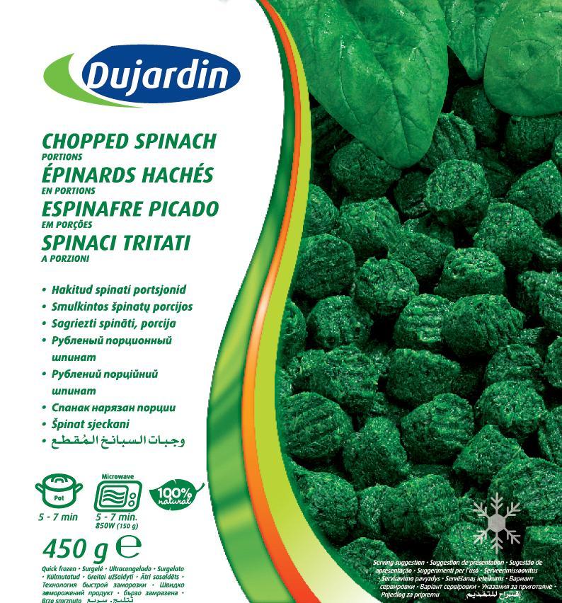Chopped Spinach 450g