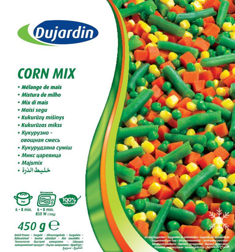 Dujardin Corn Mix 12x450g
