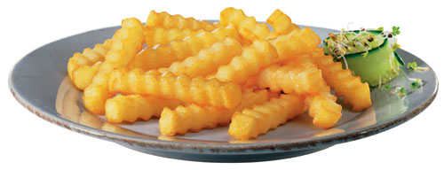 Crinkle Cut Fries 2.5kg