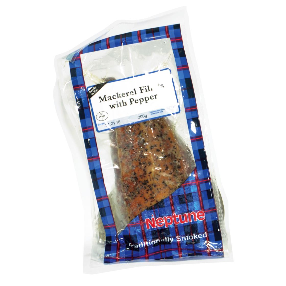 Mackerel Fillet Smoked & Peppered | 200g