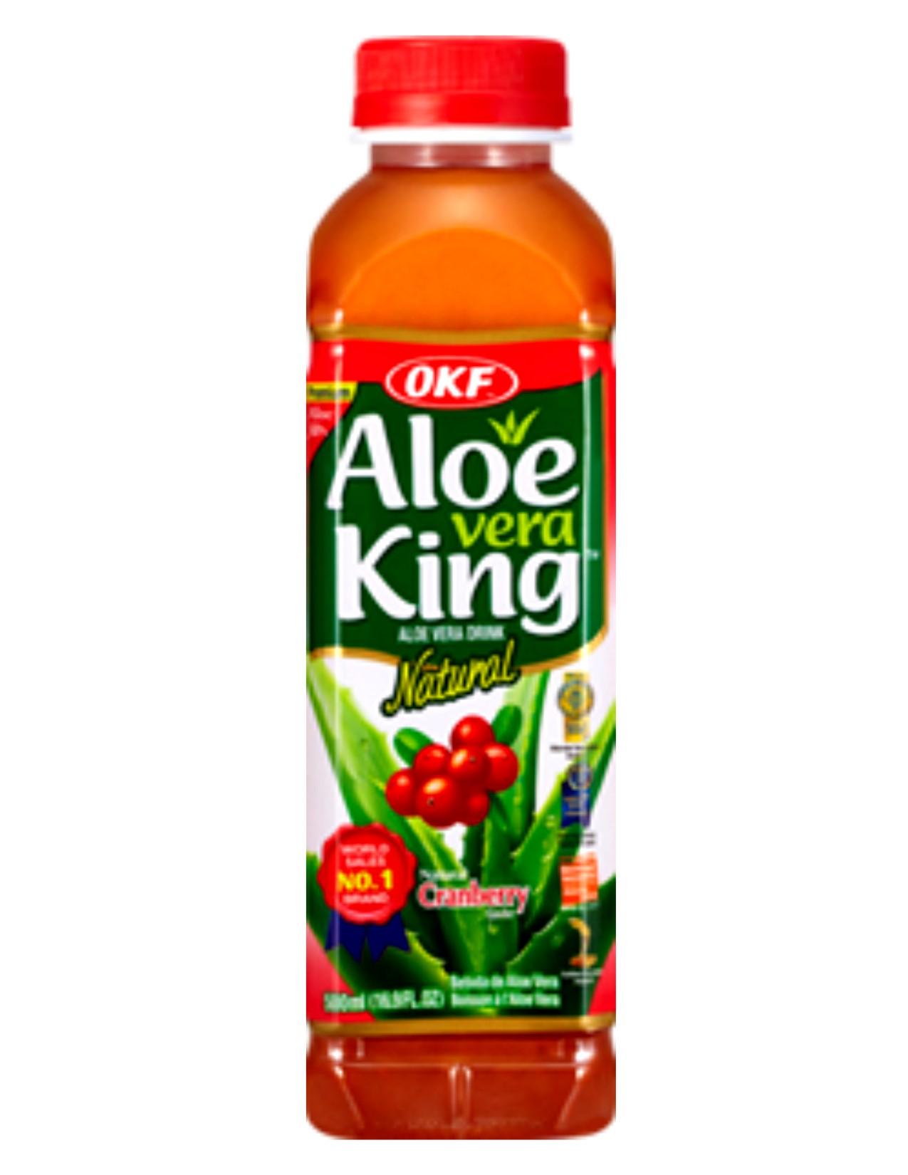 Aloe Vera King Cranberry 500ml