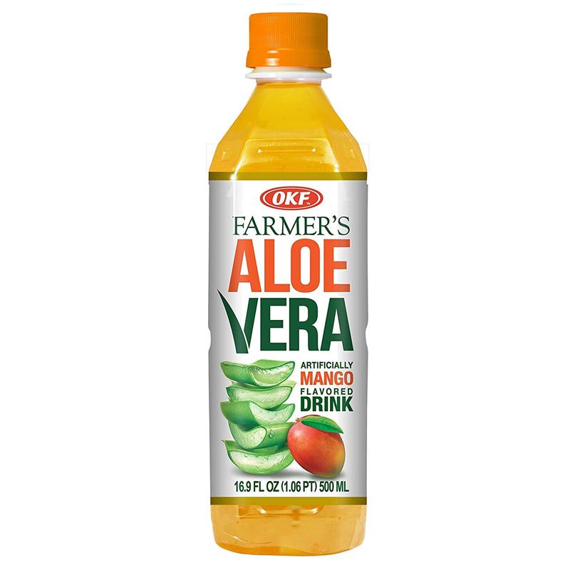 OKF Farmers Aloe Vera Mango Drink 500ml