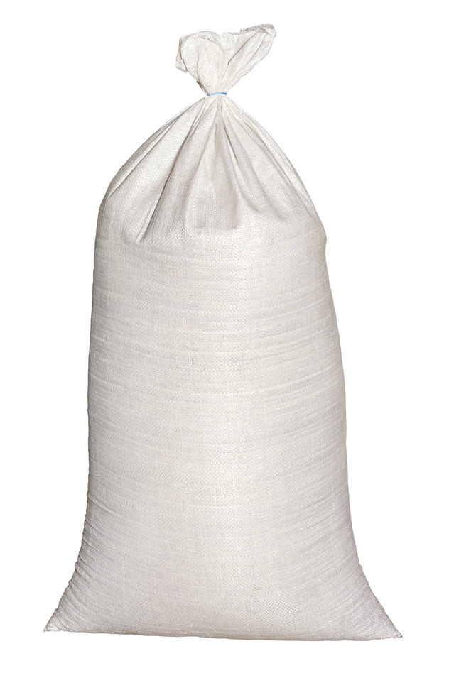 PP Close Weave Bags White 15x30
