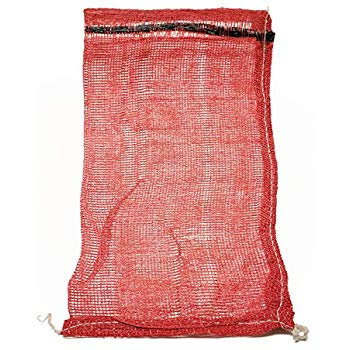 PP Leno Bags Red 19x32