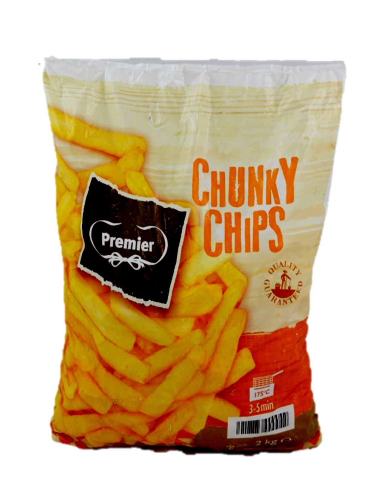 Premier Chunky Fries 9/16 5x2kg