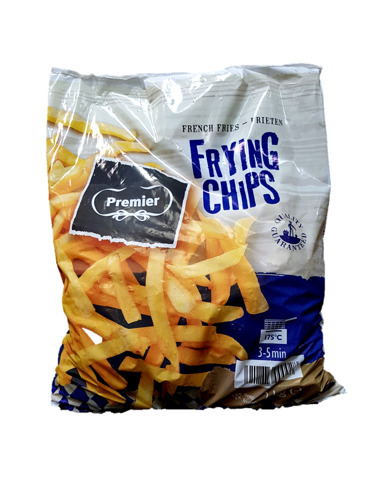 Premier Straight Cut Fries 5x2 kg