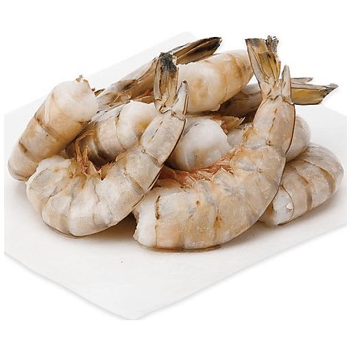Raw Shrimp Tail-On Peeled & Deveined 16-20 2lb