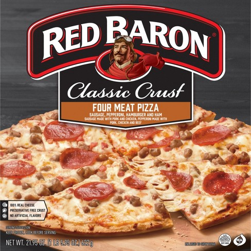 Classic Four Meats Pizza 21.77oz