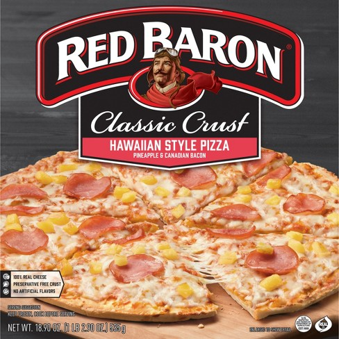Red Baron Classic Pizza Hawaiian Style 18.9oz