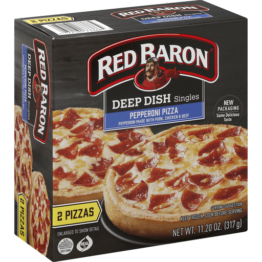 Deep Dish Pepperoni  Pizza 11.2oz