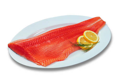 Salmon Fillets approx 2-4 lbs (Smoked Frozen)