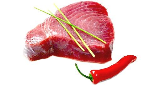 """1/2"""" Tuna Steaks 4kg"""