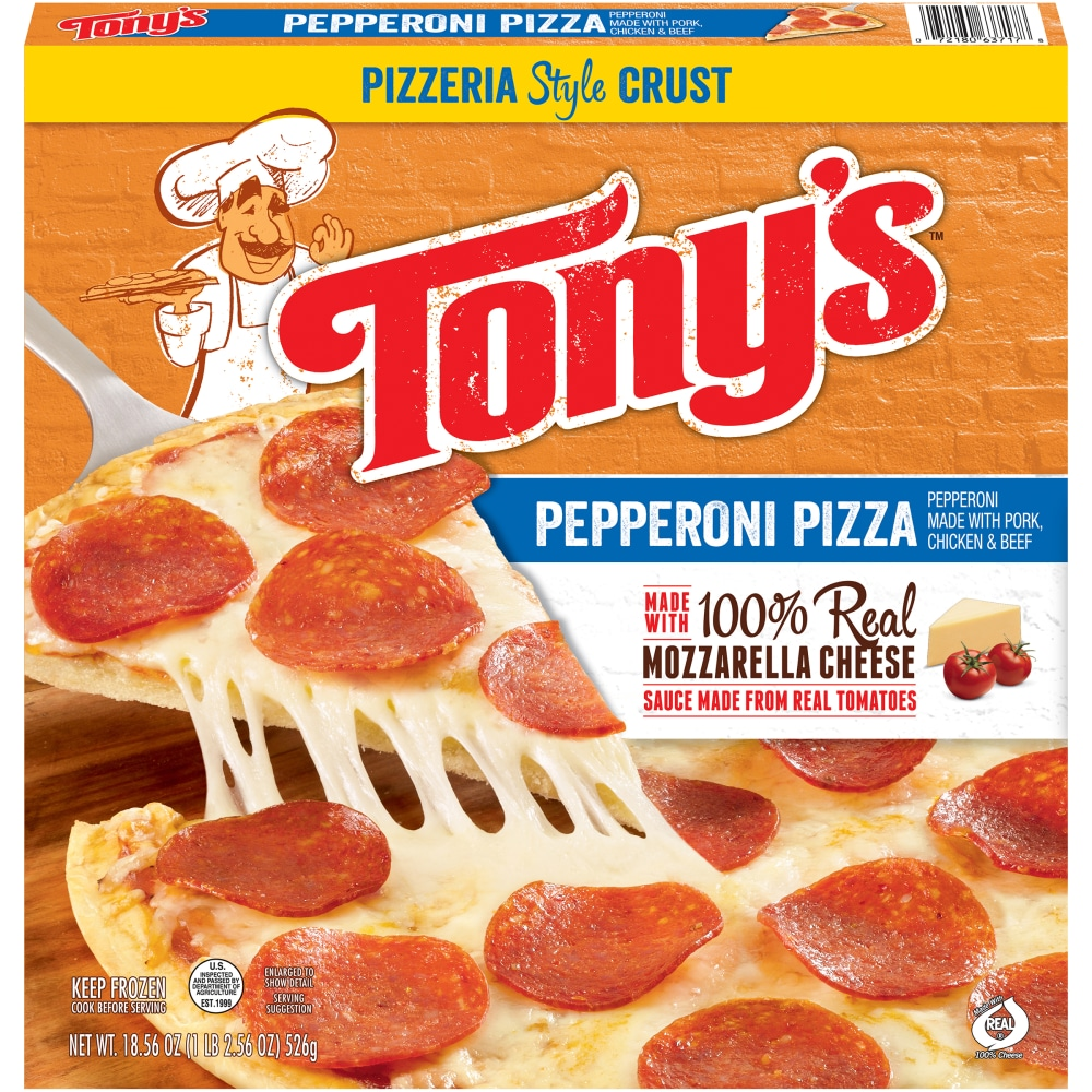 Pizzeria Style Pepperoni Pizza 18.56oz