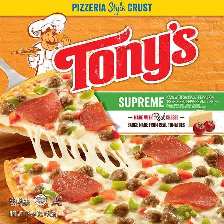 Pizzeria Style Supreme Pizza 20.6oz