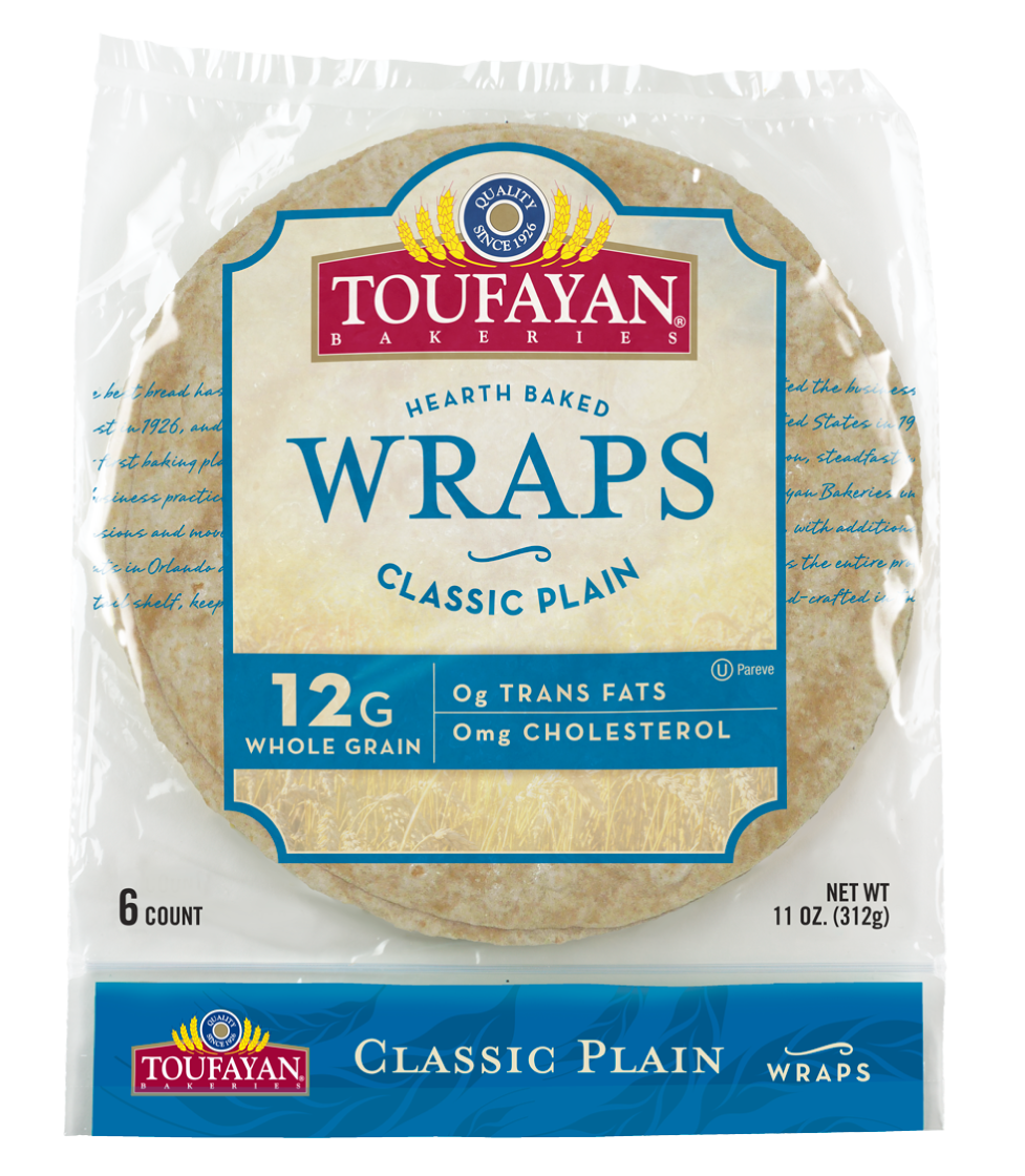 "Toufayan Plain Wrap 9"""