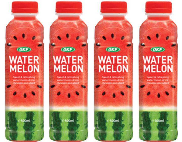 Watermelon Drink With Aloe | 500ml