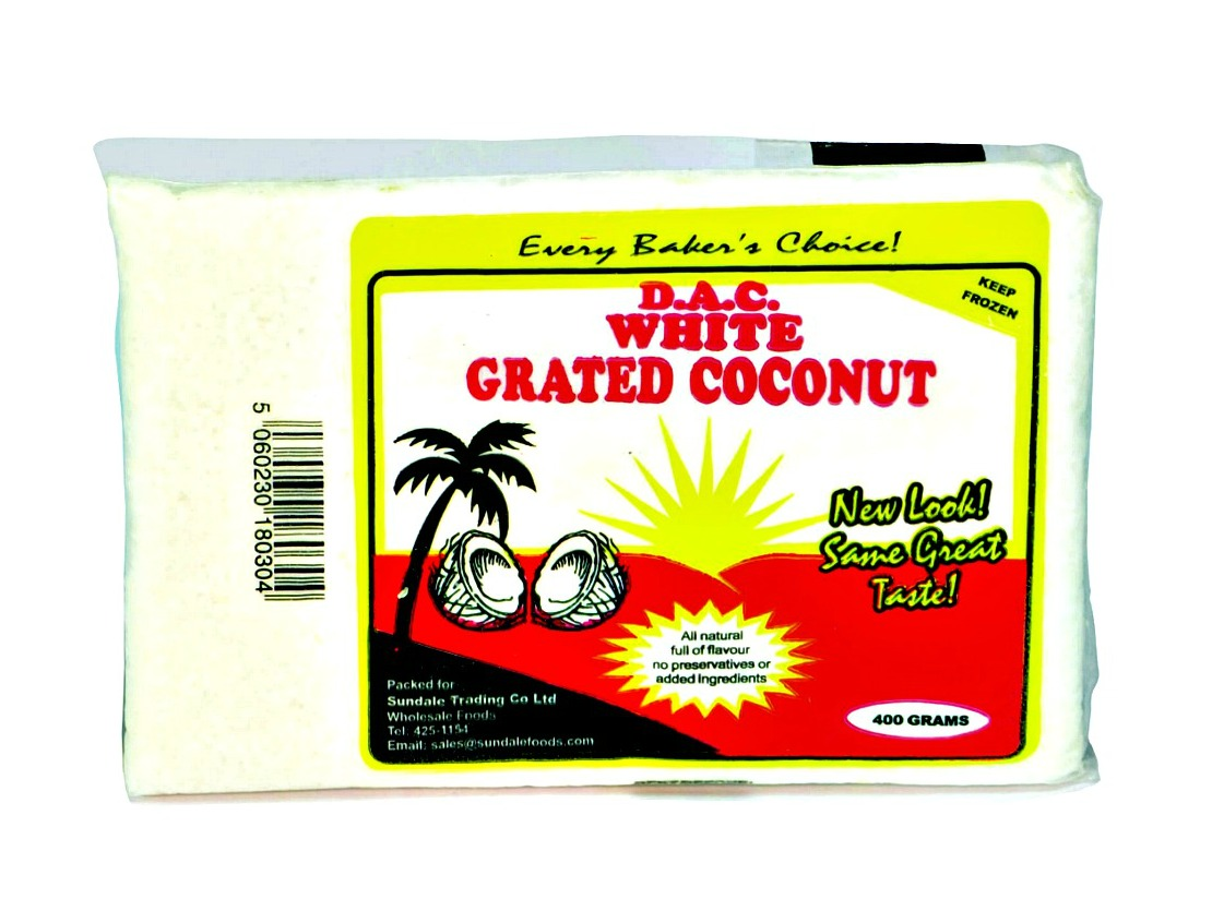 White Grated Coconut 400g